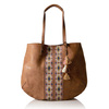 Women S Large Hobo Brown Genuine