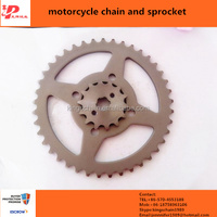 Superior quality specification standard 428H bicycle chains and sprockets
