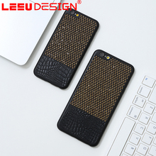 LEEU DESIGN classical slim pp professional leather mobile phone cases for iphone 6s