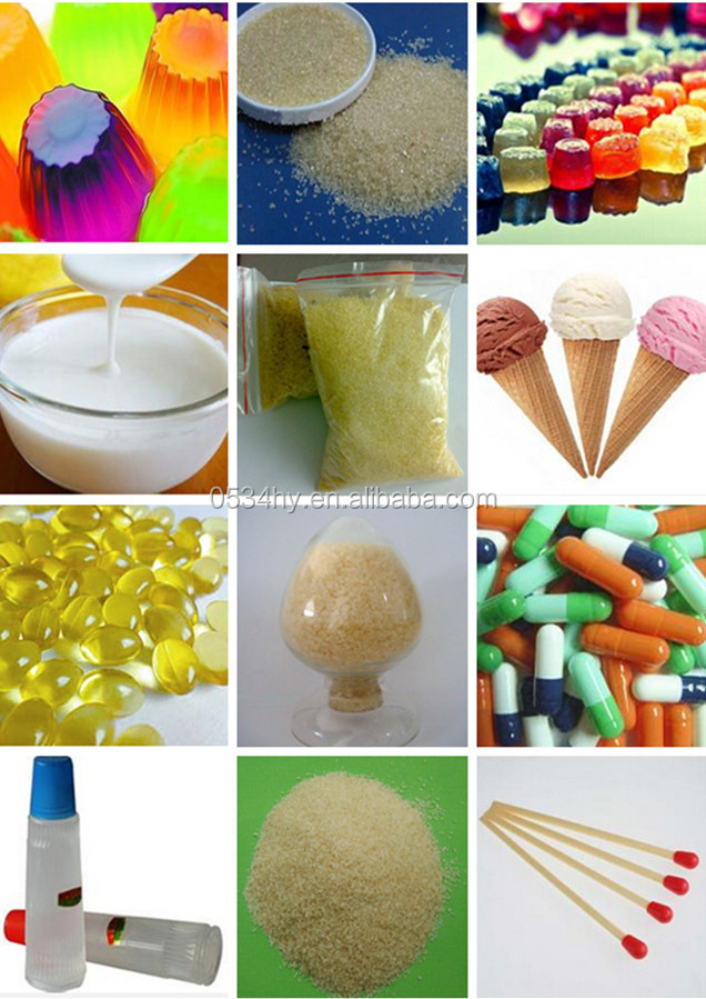 Bovine gelatin industrial grade for match and glue