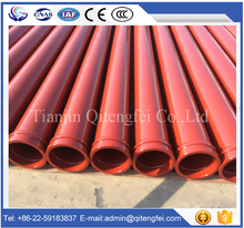 concrete pump spare parts hardened concrete pump boom pipe