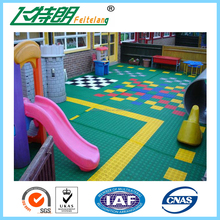 Suspended Outdoor PP Interlocking Sports floor tiles Basketball Flooring