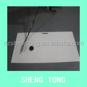 Plastic ice shooting pads/UHMWPE synthetic ice hockey training rink