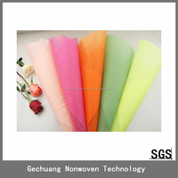 Fancy wedding flower wrapping stand decoration non woven sheet.