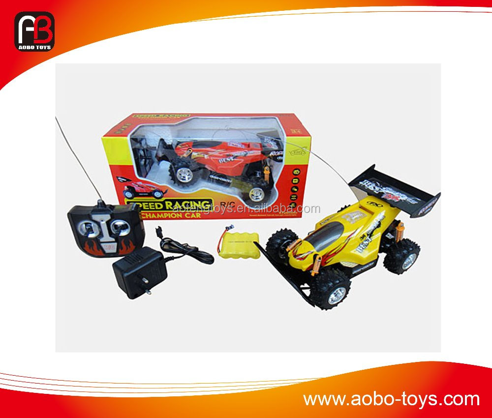High quality 4ch rc racing car toy with battery and charger