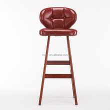 Modern design wooden bar stool