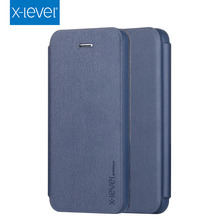 X-LEVEL Wholesale Competitive Price 4 Inch Flip PU Leather Case For Iphone 5S