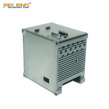 small aluminum power supply box enclosure for electronic
