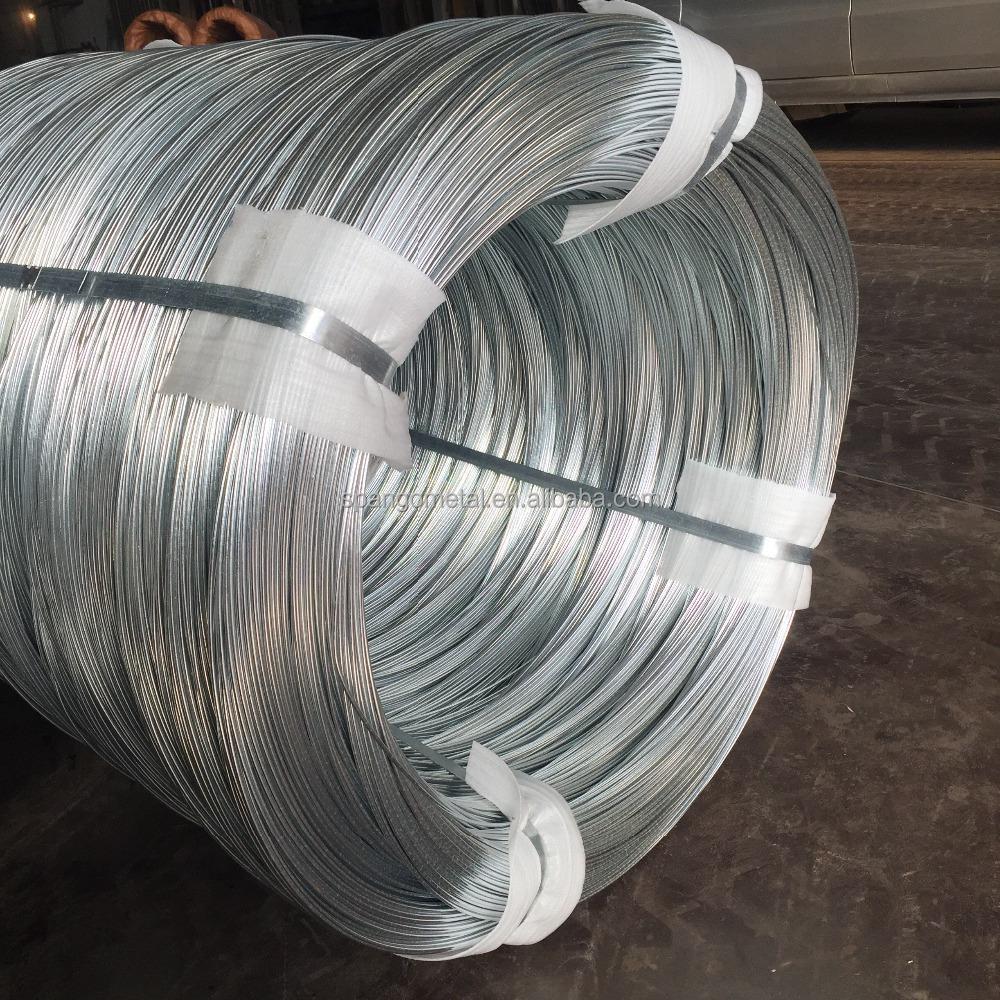 Electro galvanized wire steel