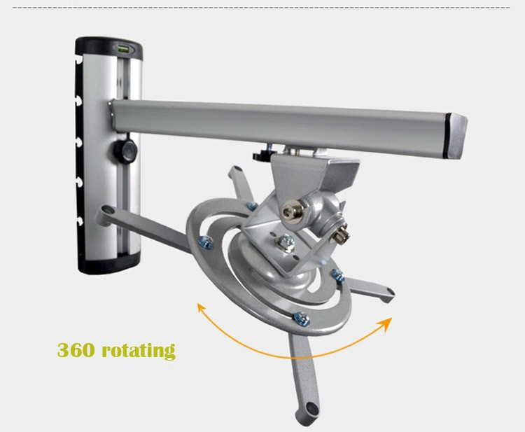 High quality 360 rotating projector mounts electric for Motorized ceiling projector mount