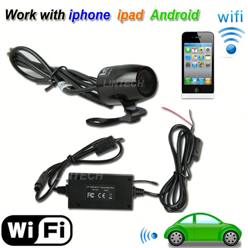 wireless license plate backup wifi camera for Europe market