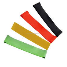 Roll elastic resistance rubber exercise fitness expander leg arm back stretch bands