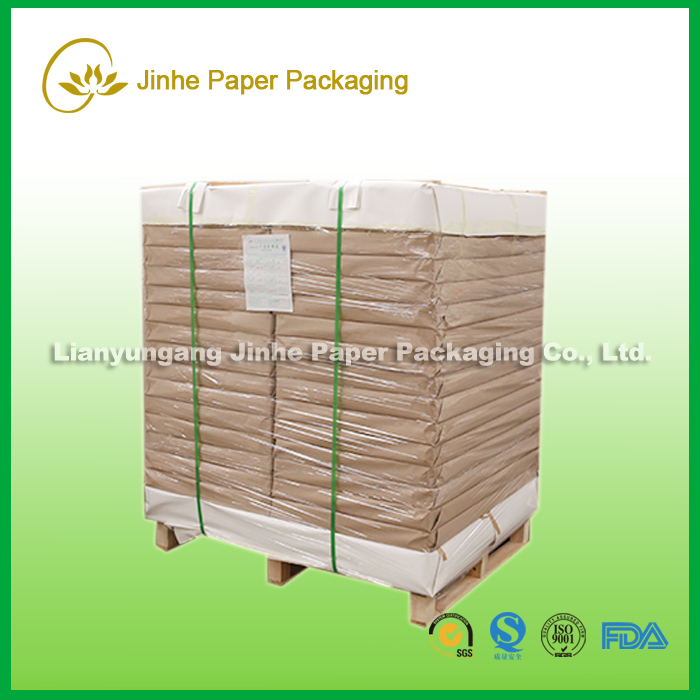 250gsm matte PE coated paper in sheet for paper cups