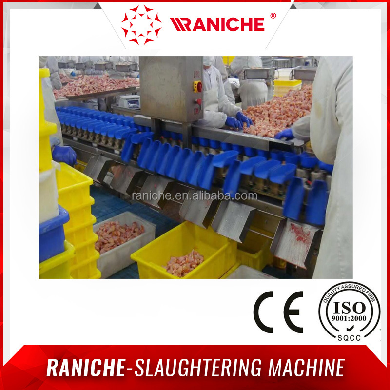 Automatic Chicken Wings and Meats Weight Sorting Machine