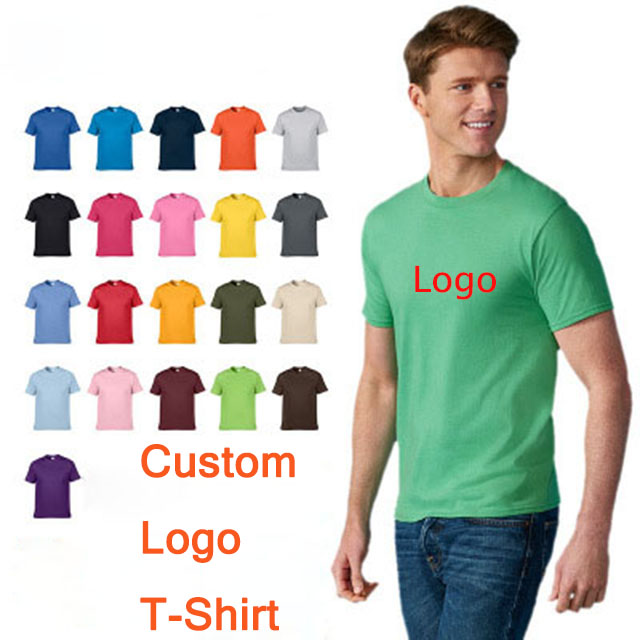 Wholesale 100% Cotton Custom T Shirt Printing