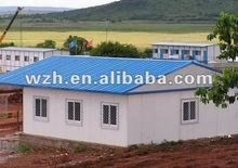 easy installation prefab office/shop/shed/cabin/kiosk/cottage,the material is light steel sheet and sandwich panels,Weizhengheng