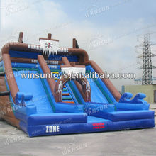 2013 New HOT inflatable pirate ship water slide