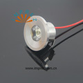 Golden Silver White finished 3W mini led downlight spotlight 12V/220V 2years warranty