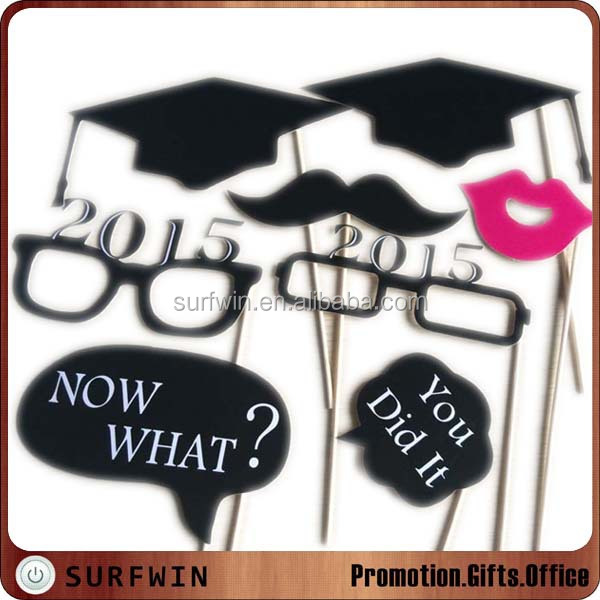 HOT Graduation photo booth props kit