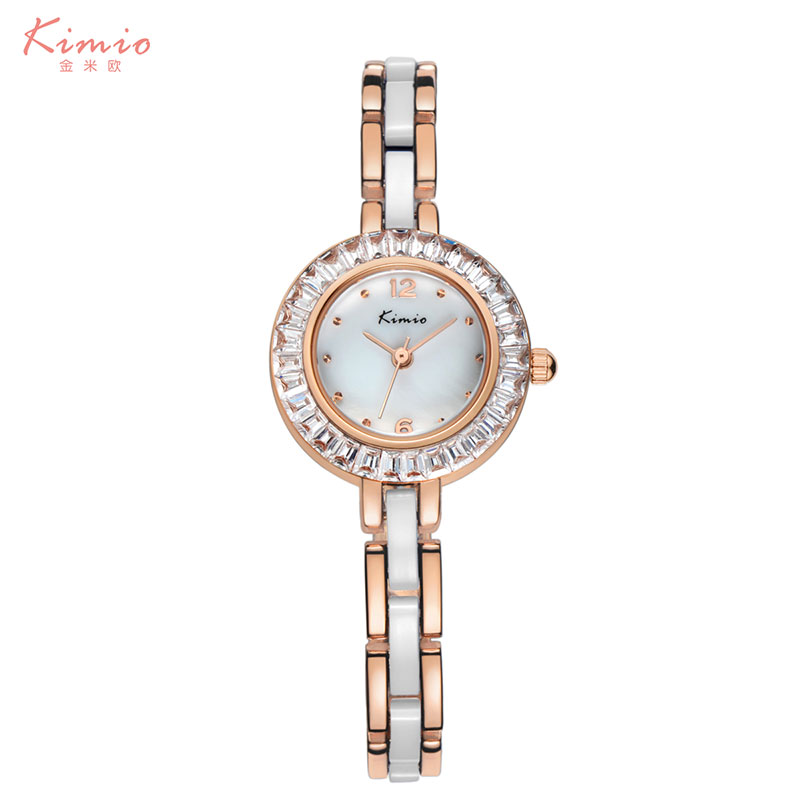 Pure gold wrist watches China ladies watches bracelet wrist watch manufactures