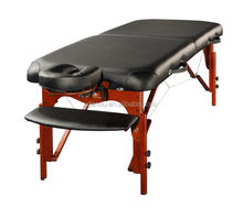 folding wooden portable Spa Massage Table / Adjustable Salon Facial Bed /hot-seliing massage table