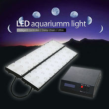 DSunY dimmable cheap aquarium supplies for coral reef ,sunrise and sunset , no any fan noise, Ultra Thin.