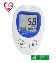 2017 OEM quick check digital blood glucose monitor, portable glucometer to test blood sugar