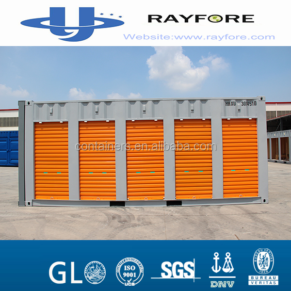 rolling shutter door 20ft side open Storage shipping container