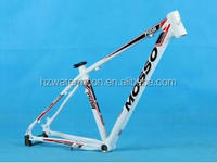 Manufacturer customed aluminum bike frame/aluminum bmx bicycle frame