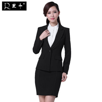 wholesale women skirt suits back neck designs for ladies office skirt suits