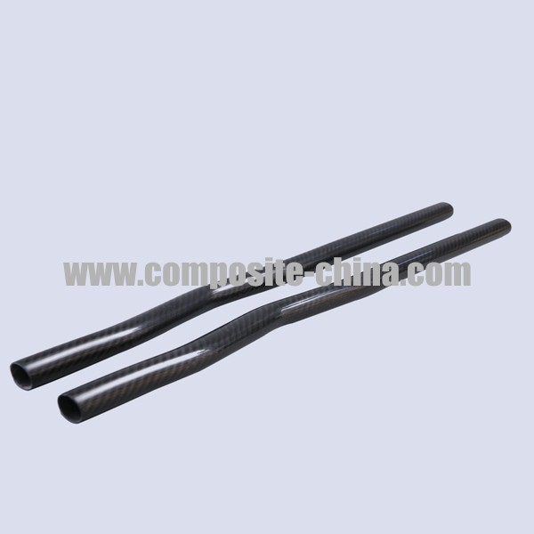 Carbon Fiber Elbow Pipe, Carbon Fiber Bent Tube of Chinese Professional Manufacturer