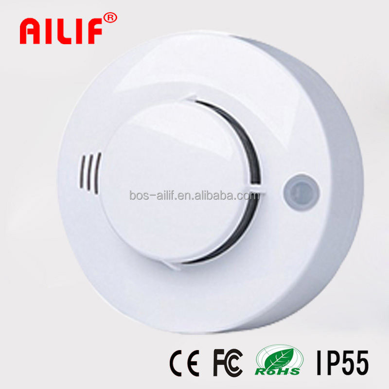 9V Battery Operated Smoke Detector Fire Alarm