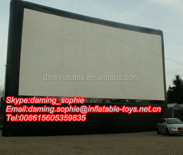 2016 best sell inflatable movie screen for sale/Screen moive inflatable