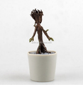 Factory Price Mini Groot Dancing Figurines Manufacturers/Custom OEM POP Groot Little Models Action Figure Toys IN STOCK