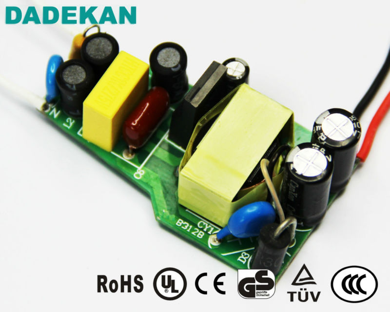 Constant current 350mA 30V~42V 12W 15W 18W LED Driver for PAR30 LED bulbs from Shenzhen Factory