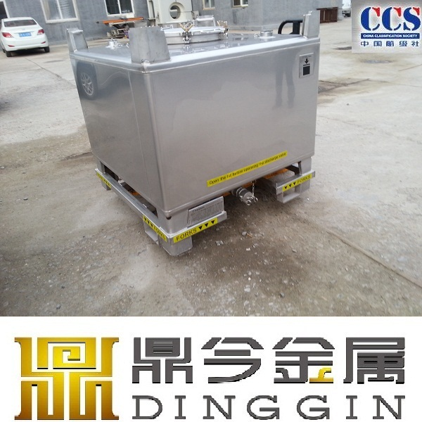 Metal ibc Bulk Container Storage 1500 liter