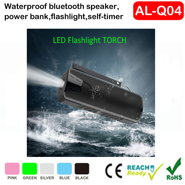 ShenZhen golden supplier bluetooth speaker rechargeable, waterproof bluetooth speaker tower with lights 2016