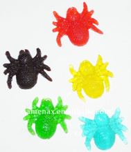 Spider shaped soft gummy candy (soft candy)