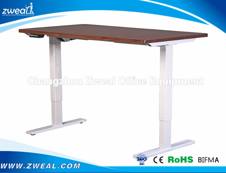 Original Factory Production Electric Height Adjustable Office Desk with One Motor