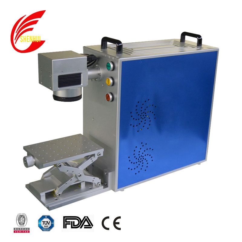 20w 30w metal engraving fiber laser marking machine for metal