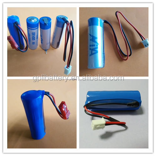 Saft quality 3.6V ER14505 1/2AA size lithium battery widely used for meters