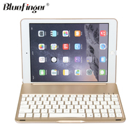 Shenzhen Factory Alloy keyboard with seven backlit for ipad