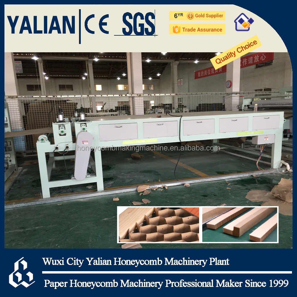 Automatic Paper Honeycomb Door Core Laminator Machinery