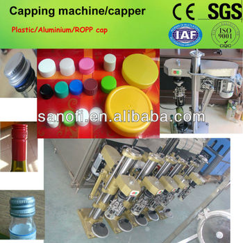 manual bottle capping machine