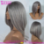 2016 Top Selling European Hair Silver Bob Wig Short Style Grey Hair Wig