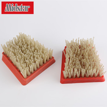 factory price diamond brushes, polishing brush for marble