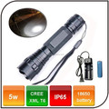 1000 lumen WF-501B XM-L T6 led 18650 battery rechargeable 3 Mode Black light flashlight