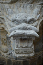 Chinese Traditional Granite Stone Dragon Sculpture