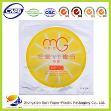 chemical plastic packaging bag/vacuum aluminum foil facial mask bag