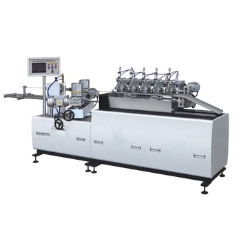 XS-580 automatic high speed multi cutters automatic paper tube straw making rotating machine